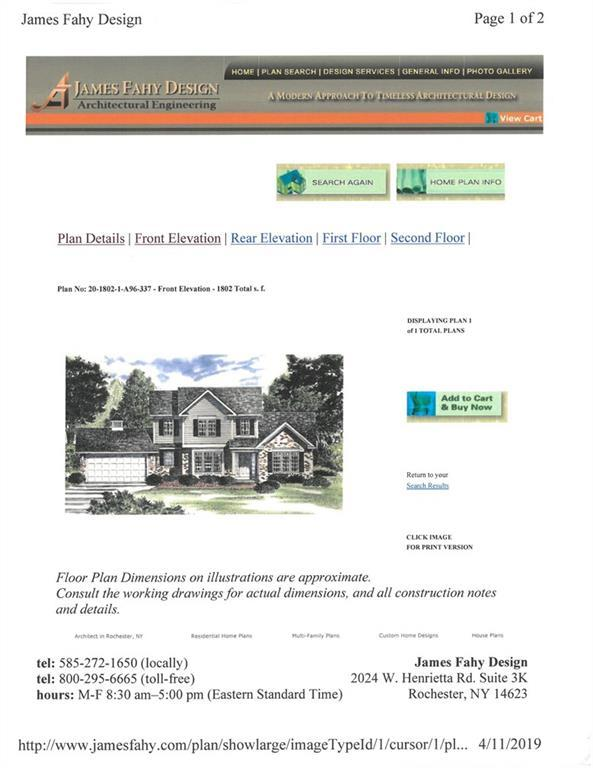 LOT #704 Fallwood Terrace, Parma, NY 14468 (MLS #R1186132) :: Robert PiazzaPalotto Sold Team