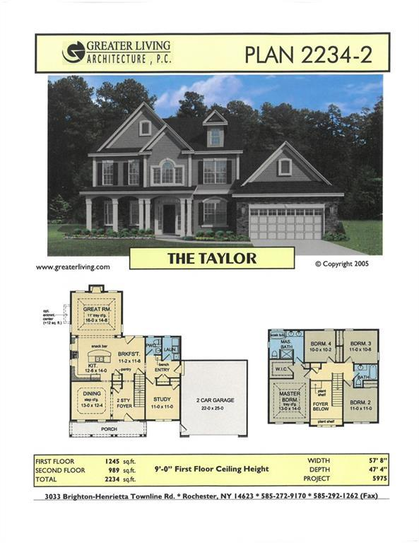 LOT #710 Fallwood Terrace, Parma, NY 14468 (MLS #R1186361) :: Robert PiazzaPalotto Sold Team