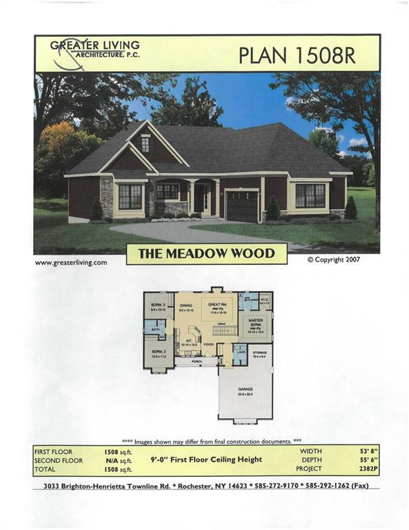 LOT #711 Fallwood Terrace, Parma, NY 14468 (MLS #R1187432) :: Robert PiazzaPalotto Sold Team