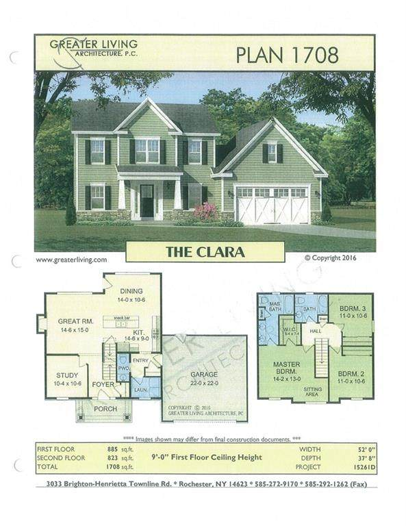1153 Guinevere Drive, Greece, NY 14626 (MLS #R1258526) :: The CJ Lore Team | RE/MAX Hometown Choice
