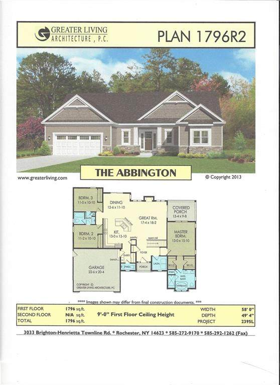 26 Silverlace Way, Penfield, NY 14580 (MLS #R1314934) :: Thousand Islands Realty