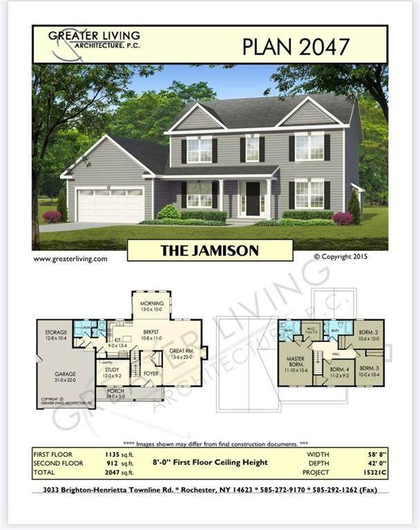 Lot# 615 Christina Dr, Chili, NY 14514 (MLS #R1328756) :: Lore Real Estate Services