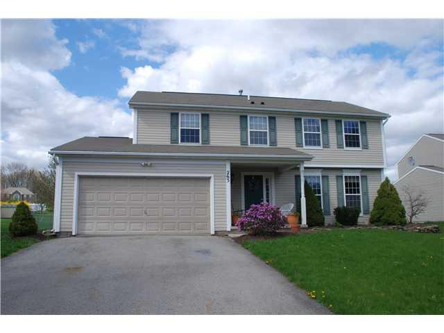263 Ponds Way, Walworth, NY 14502 (MLS #R217485) :: Robert PiazzaPalotto Sold Team
