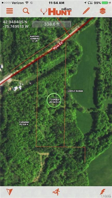 00 Wyss Road, Fenner, NY 13035 (MLS #S1117755) :: Thousand Islands Realty