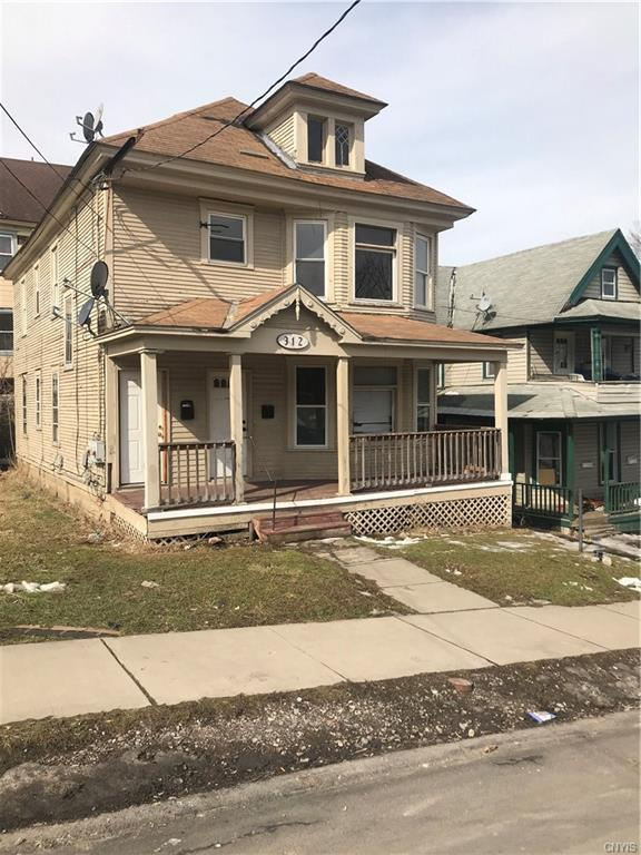 312 Arthur Street, Syracuse, NY 13204 (MLS #S1182887) :: Robert PiazzaPalotto Sold Team