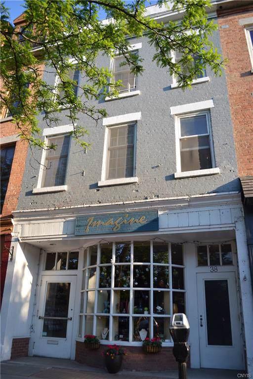 38 E Genesee Street, Skaneateles, NY 13152 (MLS #S1233372) :: MyTown Realty