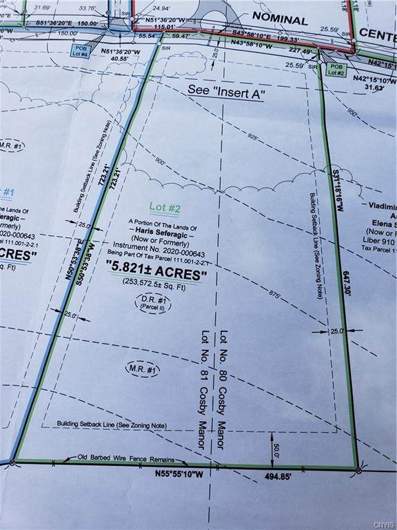 Lot #2 Albany Road, Frankfort, NY 13340 (MLS #S1289066) :: Lore Real Estate Services