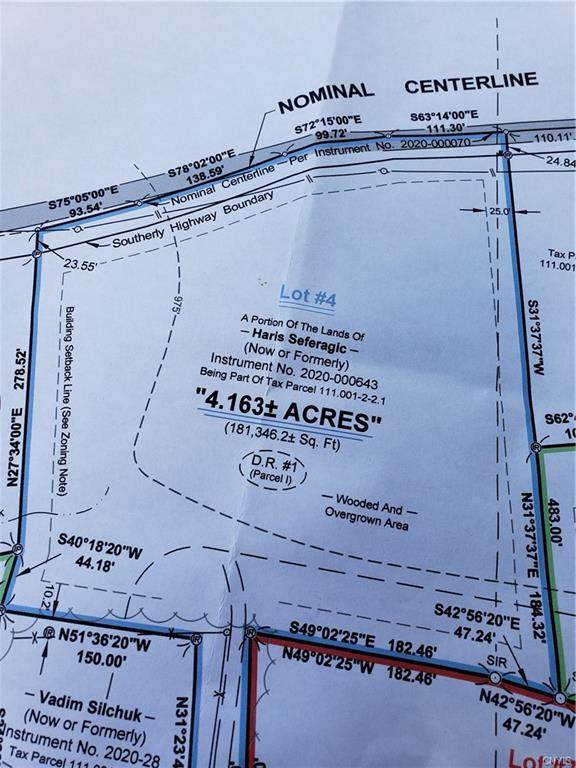 Lot #4 Brockway Road, Frankfort, NY 13340 (MLS #S1289070) :: Lore Real Estate Services