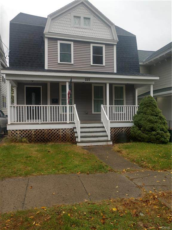 222 Bryant Avenue, Syracuse, NY 13204 (MLS #S1301577) :: Robert PiazzaPalotto Sold Team