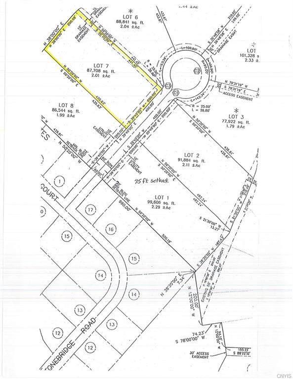 Lot 7 Stonegate Road, New Hartford, NY 13413 (MLS #S1317577) :: MyTown Realty