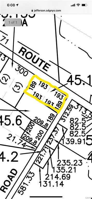 0 Nys Route 26, Alexandria, NY 13607 (MLS #S1320848) :: Thousand Islands Realty