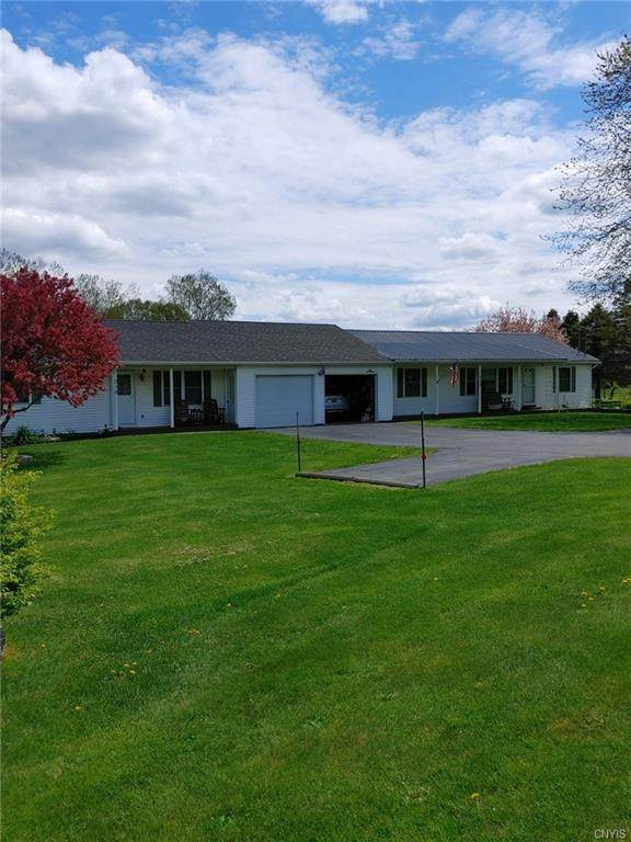 313/315 County Road 27, Manchester, NY 14432 (MLS #S1336164) :: Robert PiazzaPalotto Sold Team