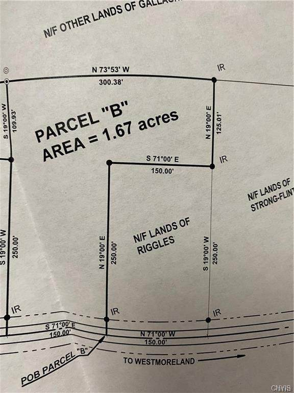 0 Lowell & Bartlett Int, Westmoreland, NY 13440 (MLS #S1346094) :: Robert PiazzaPalotto Sold Team