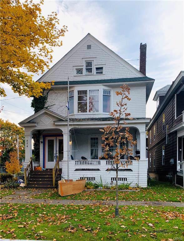 874 Ackerman Avenue, Syracuse, NY 13210 (MLS #S1237611) :: Robert PiazzaPalotto Sold Team