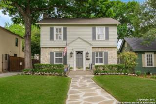 214 Evans Ave, Alamo Heights, TX 78209 (MLS #1237989) :: Exquisite Properties, LLC
