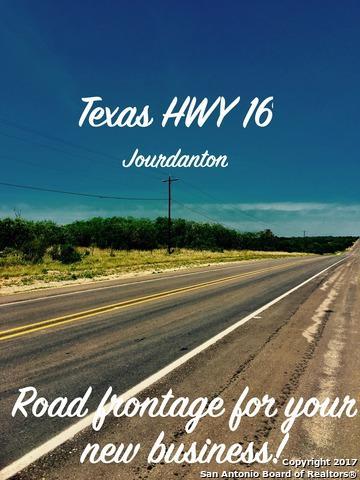 00 Hwy 16, Jourdanton, TX 78026 (MLS #1234791) :: Magnolia Realty