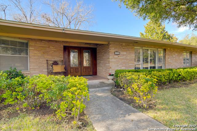111 Briarcliff Dr, Castle Hills, TX 78213 (MLS #1246005) :: The Graves Group