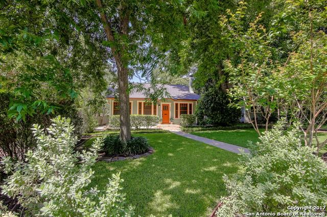 112 Eaton St, Alamo Heights, TX 78209 (MLS #1247679) :: Ultimate Real Estate Services