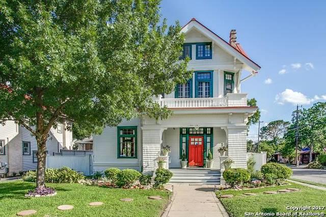 134 W Mistletoe Ave, San Antonio, TX 78212 (MLS #1249784) :: Exquisite Properties, LLC