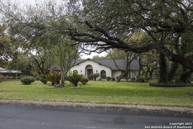 100 Long Bow Rd, Shavano Park, TX 78231 (MLS #1249900) :: Ultimate Real Estate Services