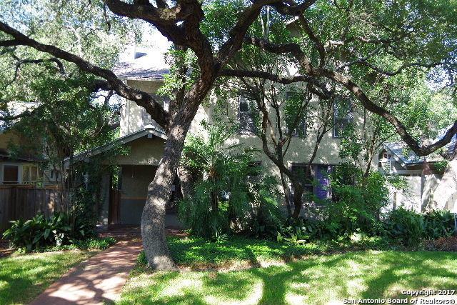 313 Encino Ave, Alamo Heights, TX 78209 (MLS #1250669) :: The Castillo Group
