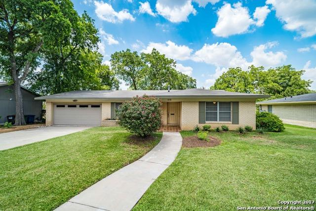 515 Woodcrest Dr, San Antonio, TX 78209 (MLS #1251033) :: The Graves Group