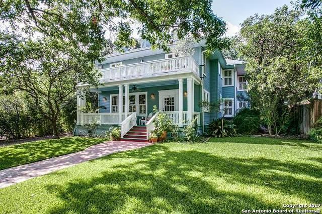 319 E Huisache Ave, San Antonio, TX 78212 (MLS #1251346) :: Exquisite Properties, LLC