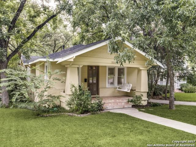 315 Joliet Ave, Alamo Heights, TX 78209 (MLS #1251451) :: Exquisite Properties, LLC