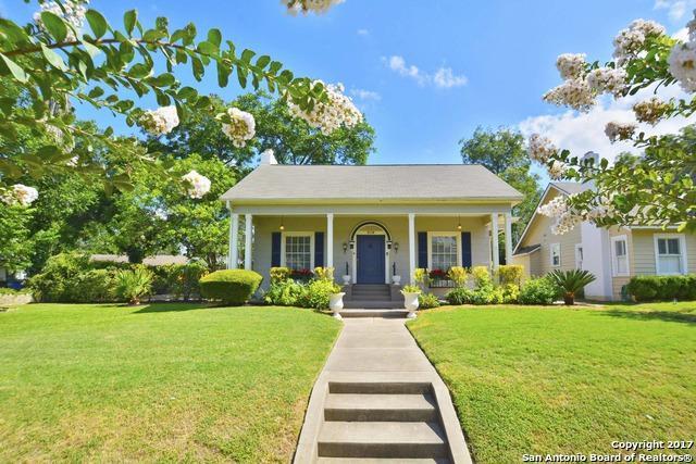 319 W Elsmere Pl, San Antonio, TX 78212 (MLS #1251675) :: Exquisite Properties, LLC