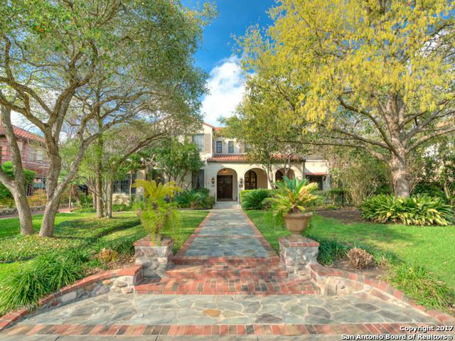 141 E Gramercy Pl, San Antonio, TX 78212 (MLS #1251684) :: Exquisite Properties, LLC