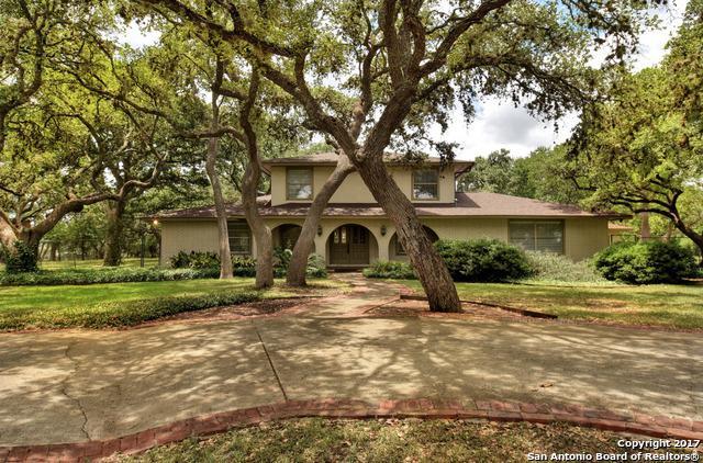 210 Cliffside Dr, Shavano Park, TX 78231 (MLS #1253830) :: Ultimate Real Estate Services