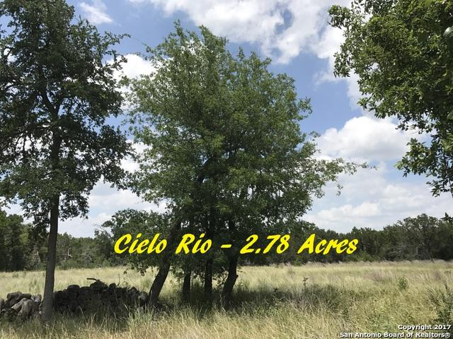 LOT 3 Rio Ct., Pipe Creek, TX 78063 (MLS #1256160) :: Alexis Weigand Real Estate Group