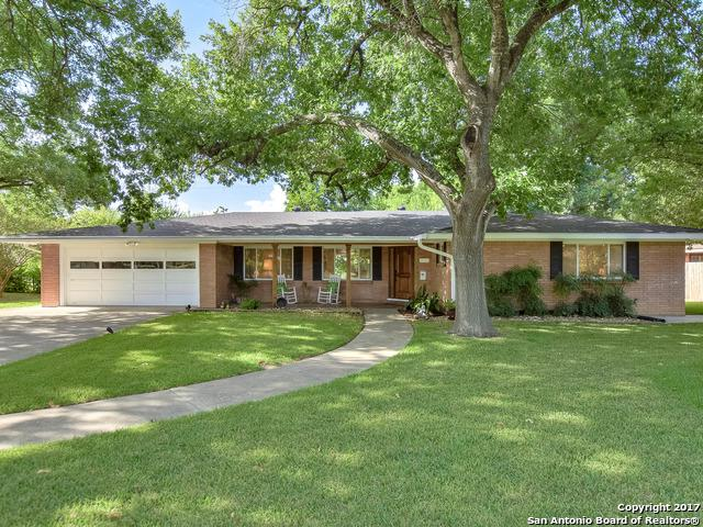 623 Cave Ln, San Antonio, TX 78209 (MLS #1257597) :: The Graves Group