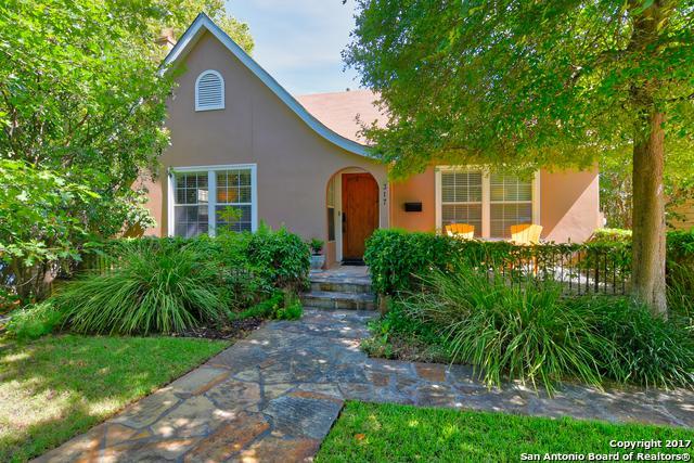 317 Corona Ave, Alamo Heights, TX 78209 (MLS #1259534) :: Neal & Neal Team