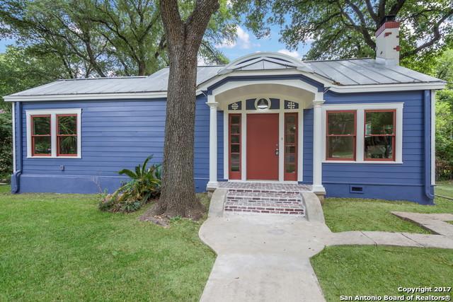 422 E Huisache Ave, San Antonio, TX 78212 (MLS #1265419) :: Exquisite Properties, LLC