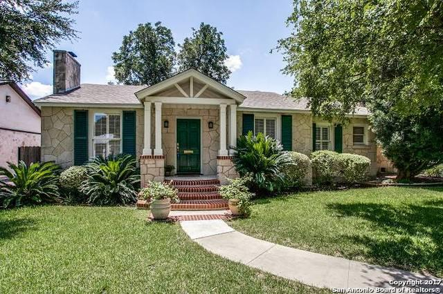 178 E Edgewood Pl, Alamo Heights, TX 78209 (MLS #1267389) :: Ultimate Real Estate Services
