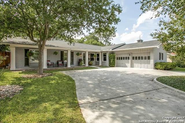 7511 Bridgewater Dr, San Antonio, TX 78209 (MLS #1269715) :: Alexis Weigand Group