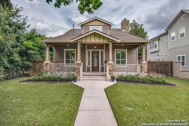 121 Lafayette Ave, Alamo Heights, TX 78209 (MLS #1270609) :: The Suzanne Kuntz Real Estate Team