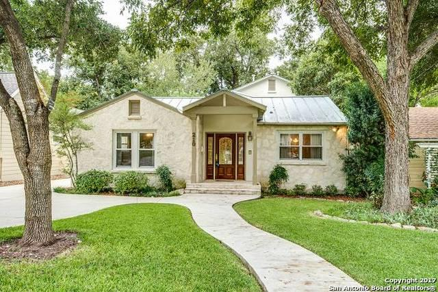 210 College Blvd, Alamo Heights, TX 78209 (MLS #1276180) :: Neal & Neal Team