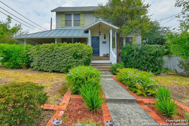 301 Montclair St, Alamo Heights, TX 78209 (MLS #1276688) :: Ultimate Real Estate Services