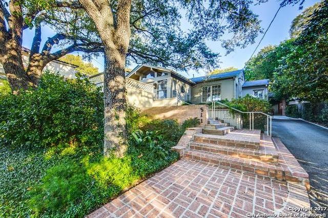 511 Alta Ave, Alamo Heights, TX 78209 (MLS #1277063) :: Ultimate Real Estate Services