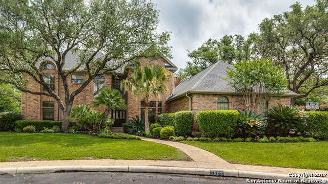 1503 Fox Haven, San Antonio, TX 78248 (MLS #1278323) :: The Castillo Group