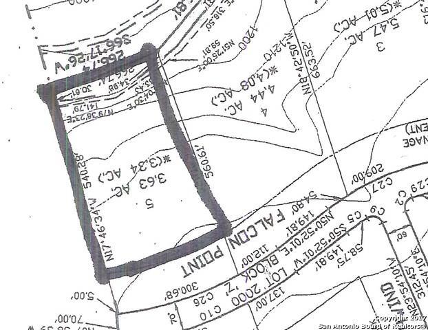 LOT 5 Falcon Pt, Boerne, TX 78006 (MLS #1279680) :: Ultimate Real Estate Services