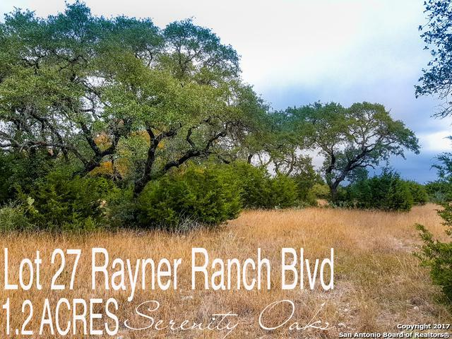 LOT 27 Rayner Ranch Blvd, Spring Branch, TX 78070 (MLS #1280002) :: Exquisite Properties, LLC