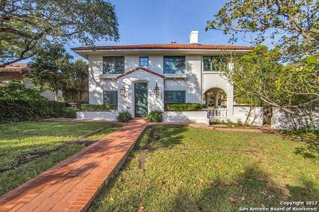 219 Argyle Ave, Alamo Heights, TX 78209 (MLS #1280567) :: Neal & Neal Team