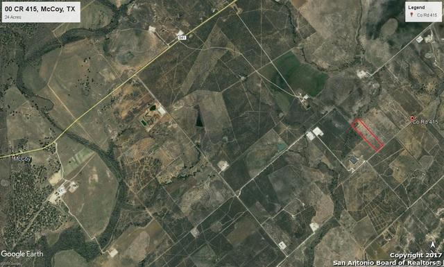 00 Cr 415, McCoy, TX 78113 (MLS #1281842) :: Ultimate Real Estate Services