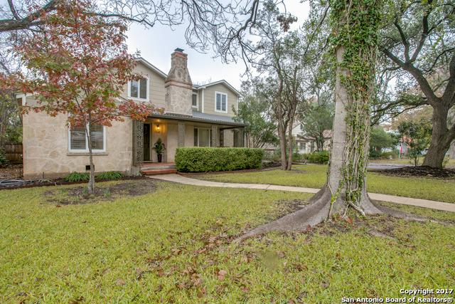 129 E Elmview Pl, Alamo Heights, TX 78209 (MLS #1284025) :: Ultimate Real Estate Services
