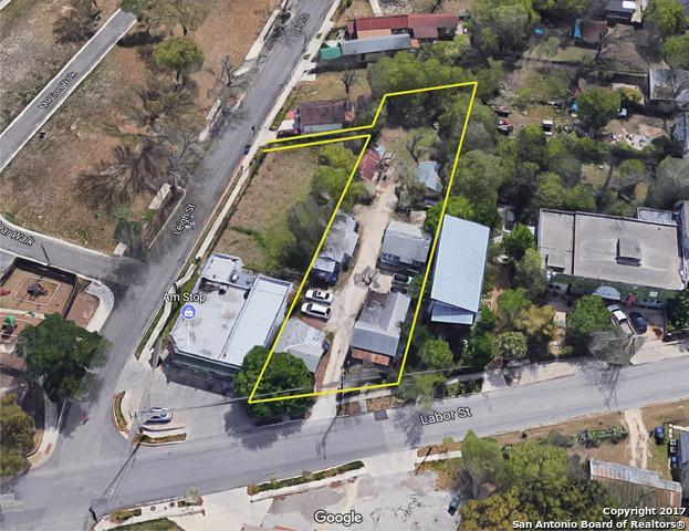 608 Labor St, San Antonio, TX 78210 (MLS #1284047) :: The Castillo Group