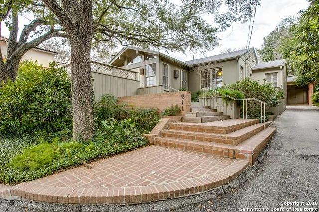 511 Alta Ave, Alamo Heights, TX 78209 (MLS #1286214) :: Ultimate Real Estate Services