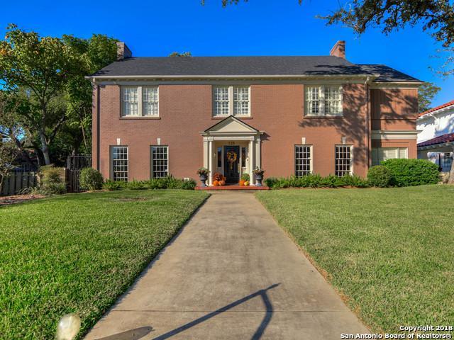 125 W Gramercy Pl, San Antonio, TX 78212 (MLS #1287089) :: Exquisite Properties, LLC